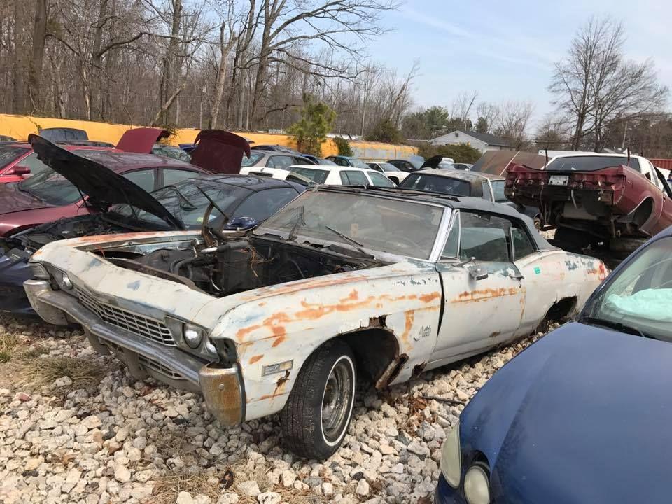 Pin by Nick on Scrap Yards 3 | Pinterest | Chevrolet impala, Impalas ...