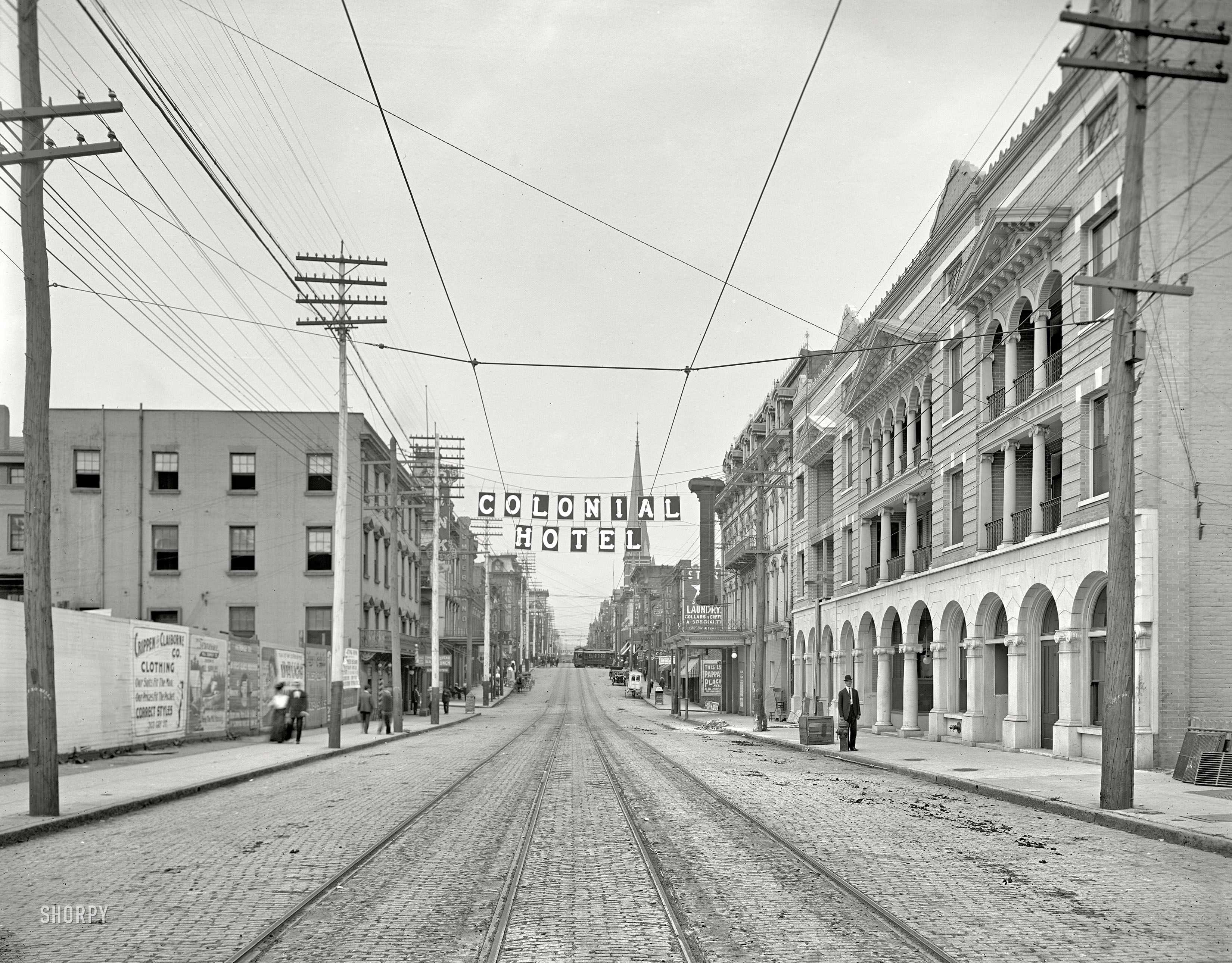 c. 1910) Gay Street looking north from Main Avenue - Knoxville ...
