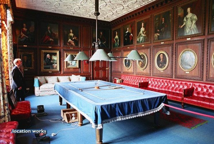 Billiards Room. Burghley House
