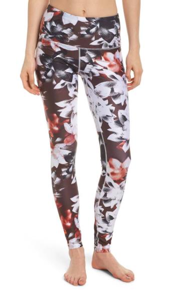 5ea480101c6f9 I need more leggings like these!   Zella Print Slick High Waist Leggings    workout pants   workout leggings   yoga pants   running pants   fitness  attire ...