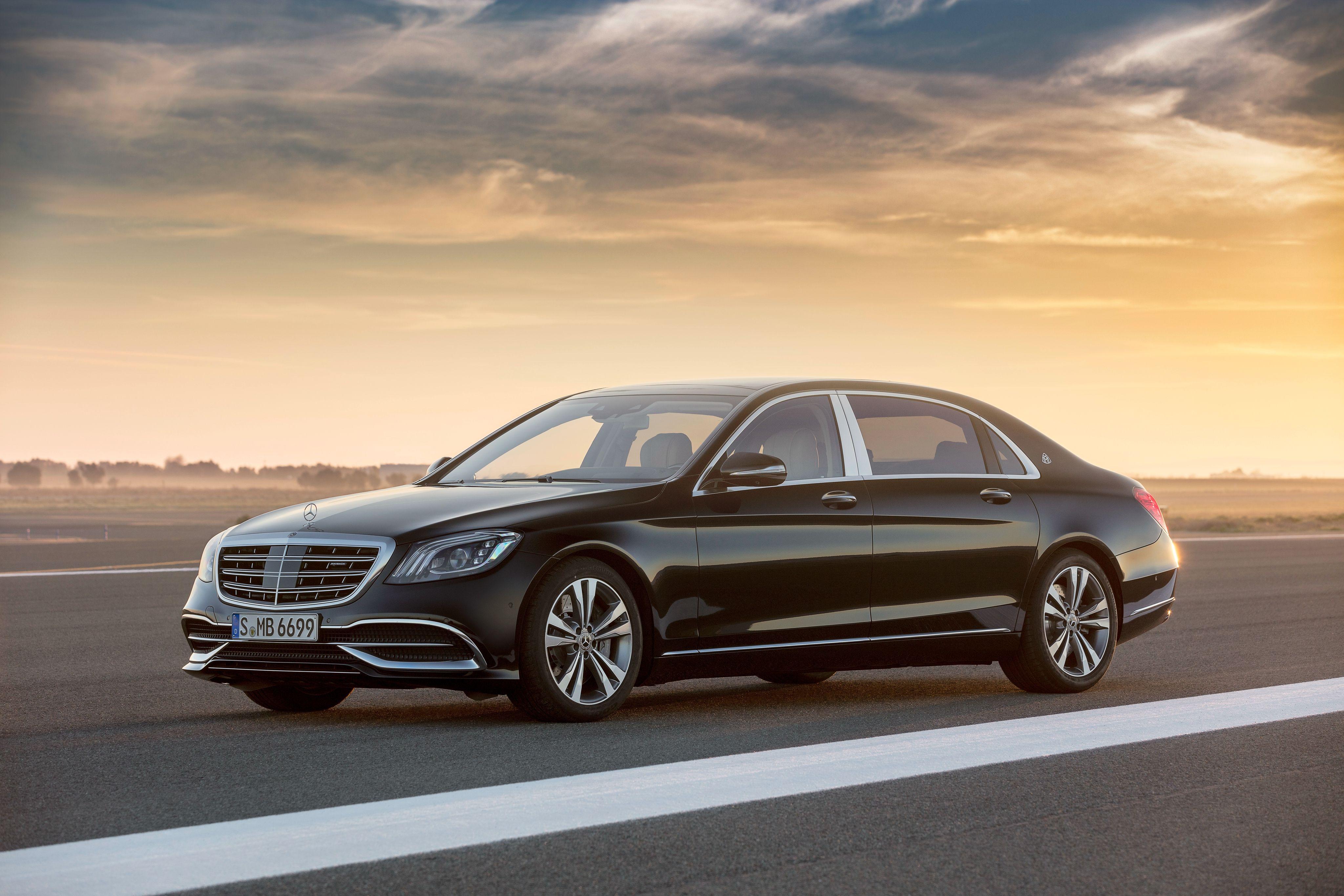 Mercedes Benz S Klasse Maybach – Auto Bild Idee