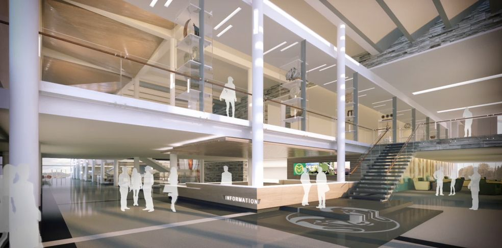 Colorado State University Lory Student Center By Perkins Will I M Excited For This New Design Student Center Colorado State University Higher Education Design
