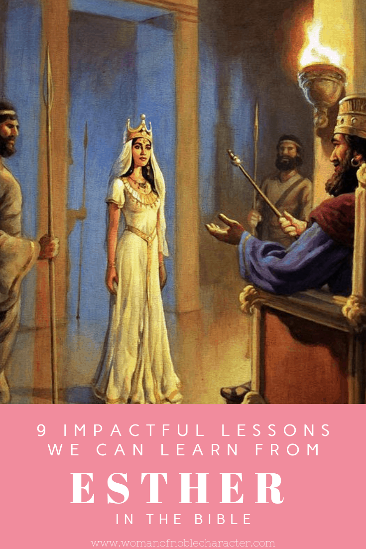 9 Impactful Lessons We Can Learn From The Book Of Esther in the Bible | Esther bible, Esther bible study, Bible