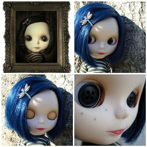 Coraline Please See New Note Coraline Blythe Dolls Ball Jointed Dolls