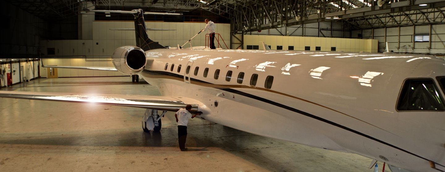Clean2Gleam's mobile aviation detailing experts are fully