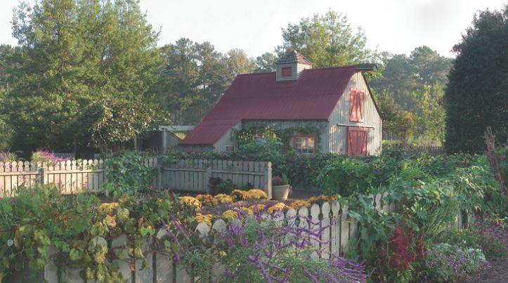Mr Cason S Vegetable Garden At Callaway Gardens In Pine Mountain