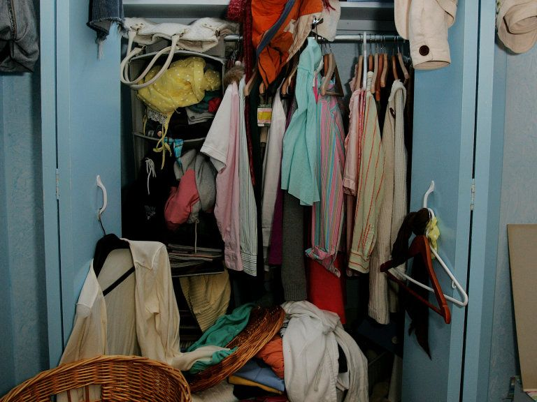 What Does Your Closet Clutter Say About You