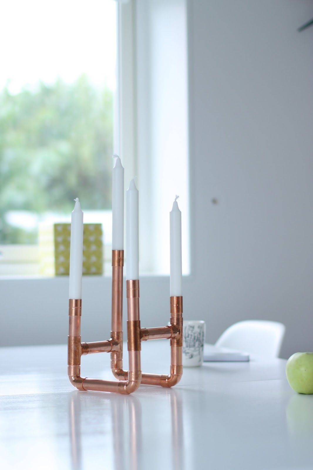 DIY | Copper Candle Holder