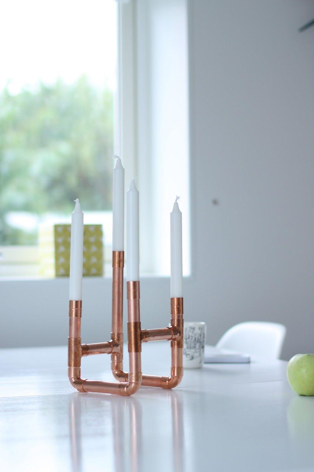 DIY | Copper Candle Holder