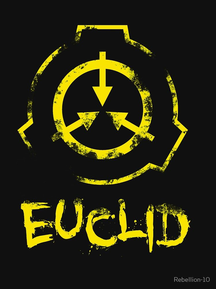 Scp Foundation Euclid Slim Fit T Shirt Dibujos De