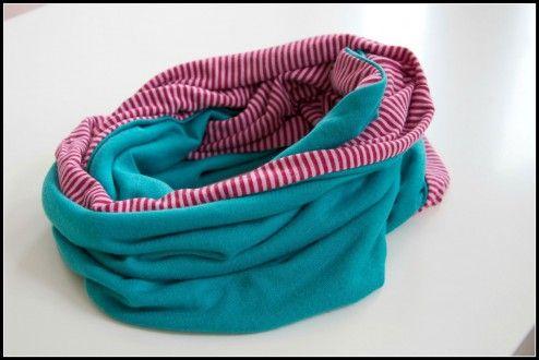 Näh-Tutorial: Der Loop   rabea kappen   Pinterest   Diy sewing ...