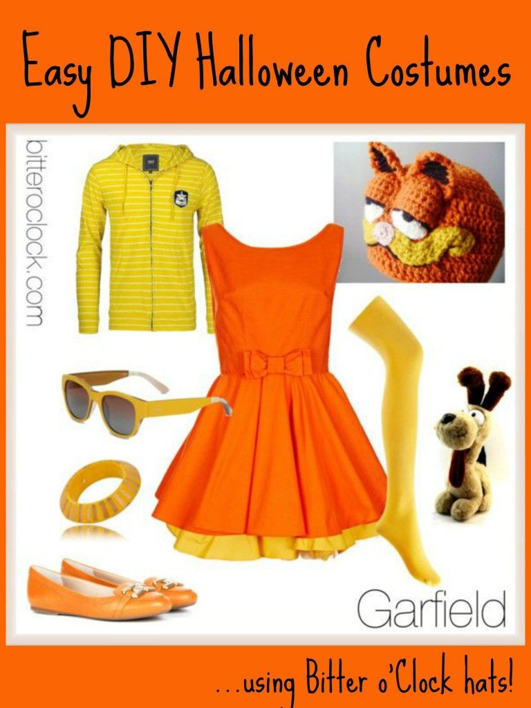 Garfield Costume 768x1024 Jpg 768 1024 Disfraces