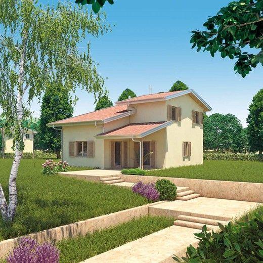 Wolf haus case prefabbricate diana 148 case giardini for Piani di casa in stile cottage artigiano