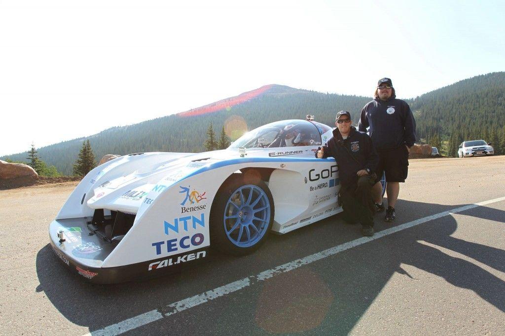 Monster Tajima In The Sport E Runner Electric Pikes Peak Car