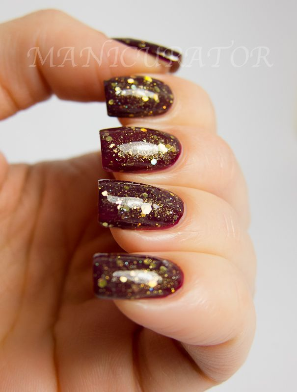 Kb Shimmer We Three Blings Over Dior Orchid Nails Nails
