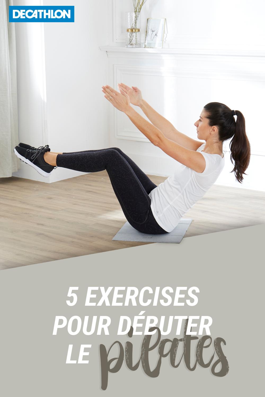 5 EXERCICES POUR DEBUTER LE PILATES | Exercice pour