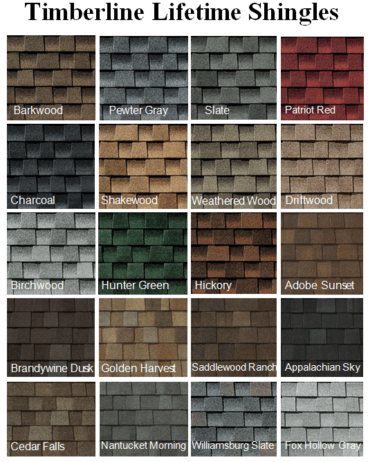 Roofing Calculator Estimate Your Roofing Costs Roofingcalc Com Roof Shingle Colors Shingle Colors Asphalt Shingles Colors