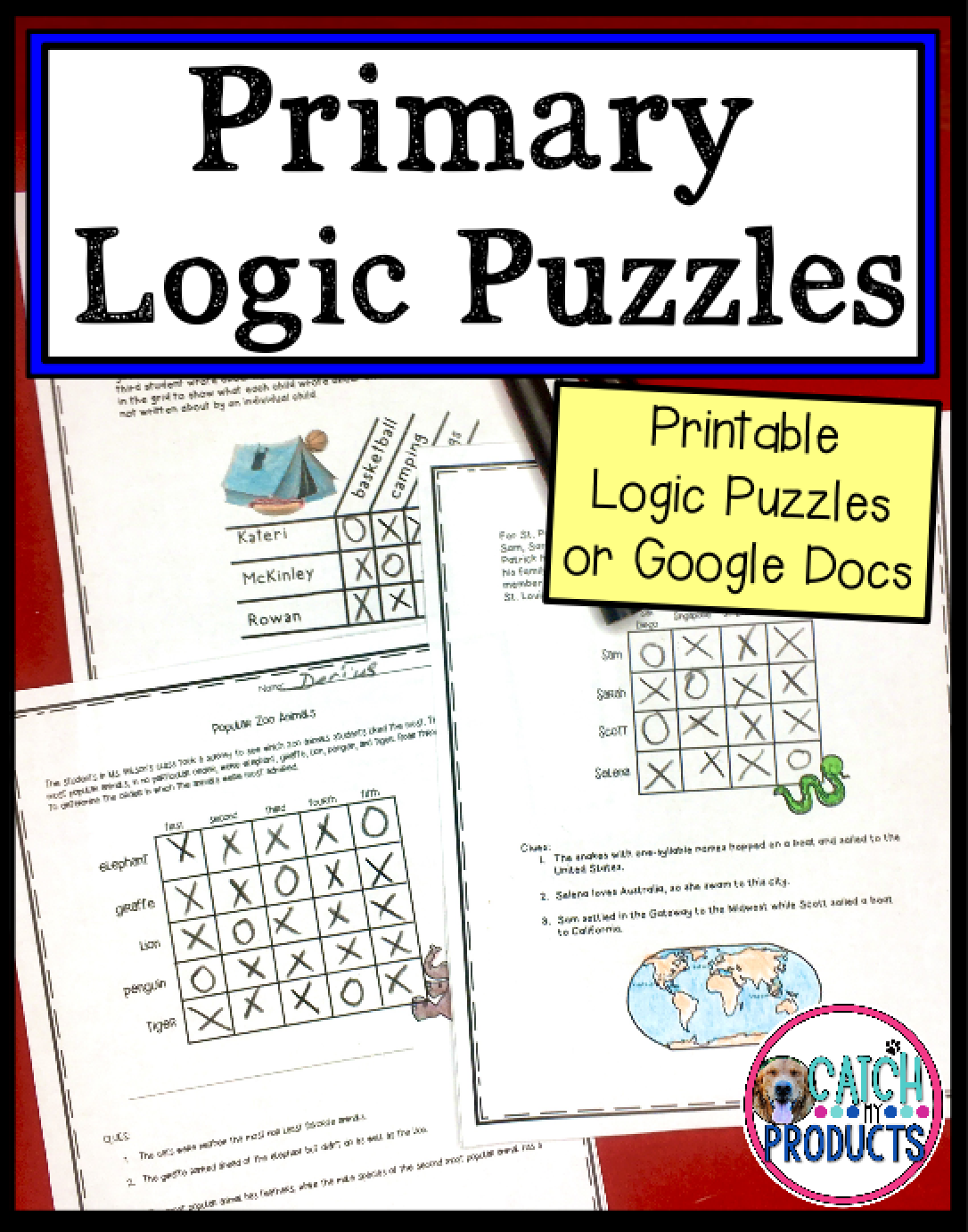 Logic Puzzles and Brain Teasers for Kids   Brain teasers for kids [ 1382 x 1086 Pixel ]