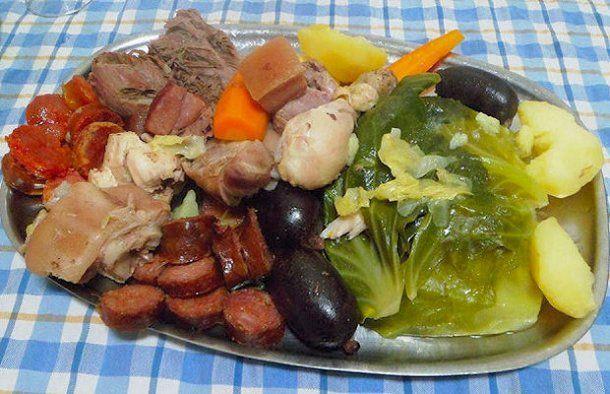 Portuguese Cozido Boiled Meal