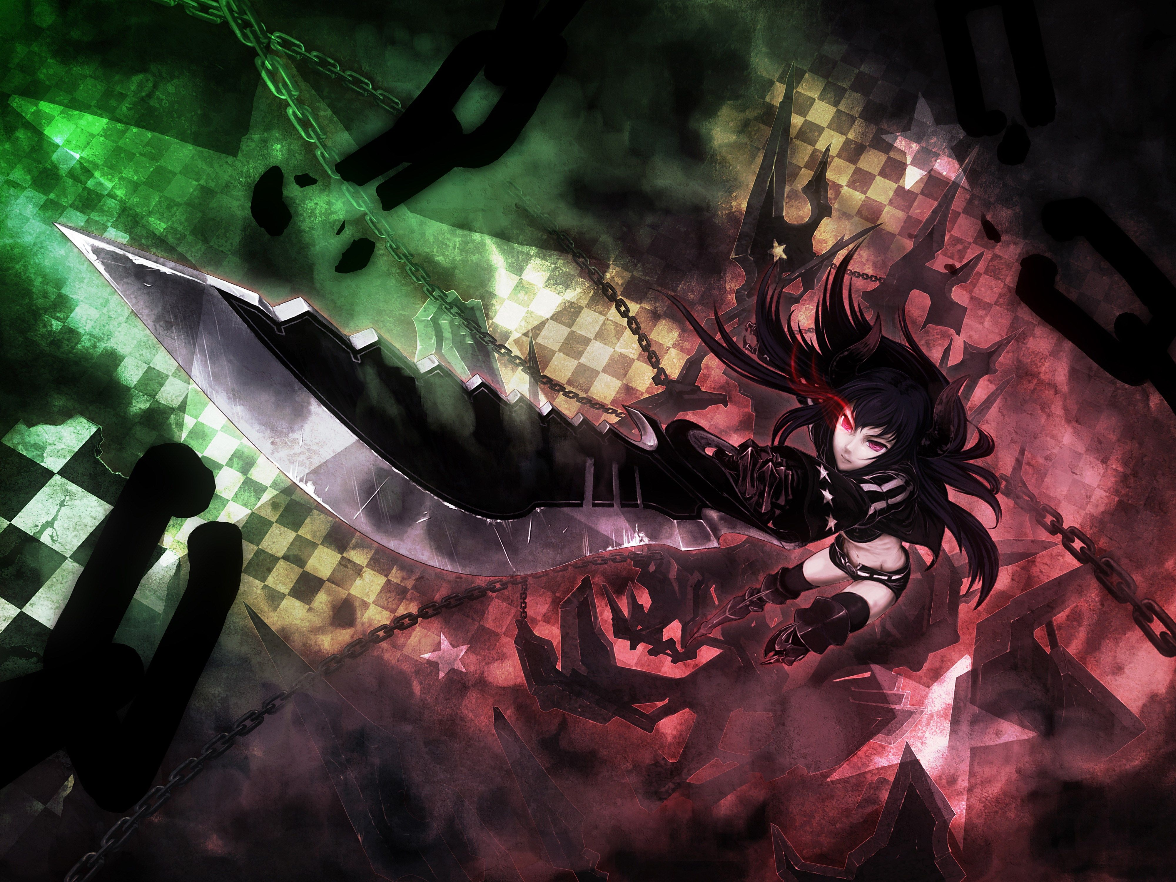 2017-03-16 - black rock shooter wallpaper pack 1080p hd, #1430595