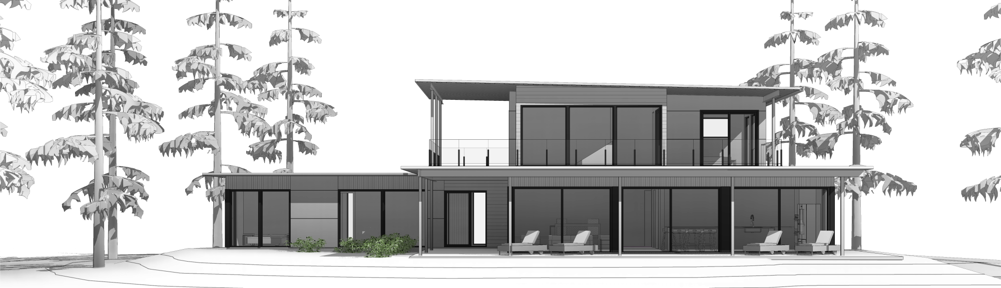 Modern Prefab homes with designer style for any custom home build ...