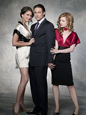Stephanie, Phillip and Melanie triangle