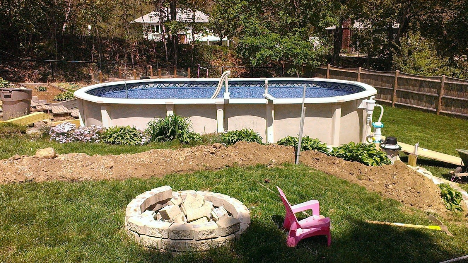 It S Easy To Guess Why Above Ground Pools With Decks Are So Hype