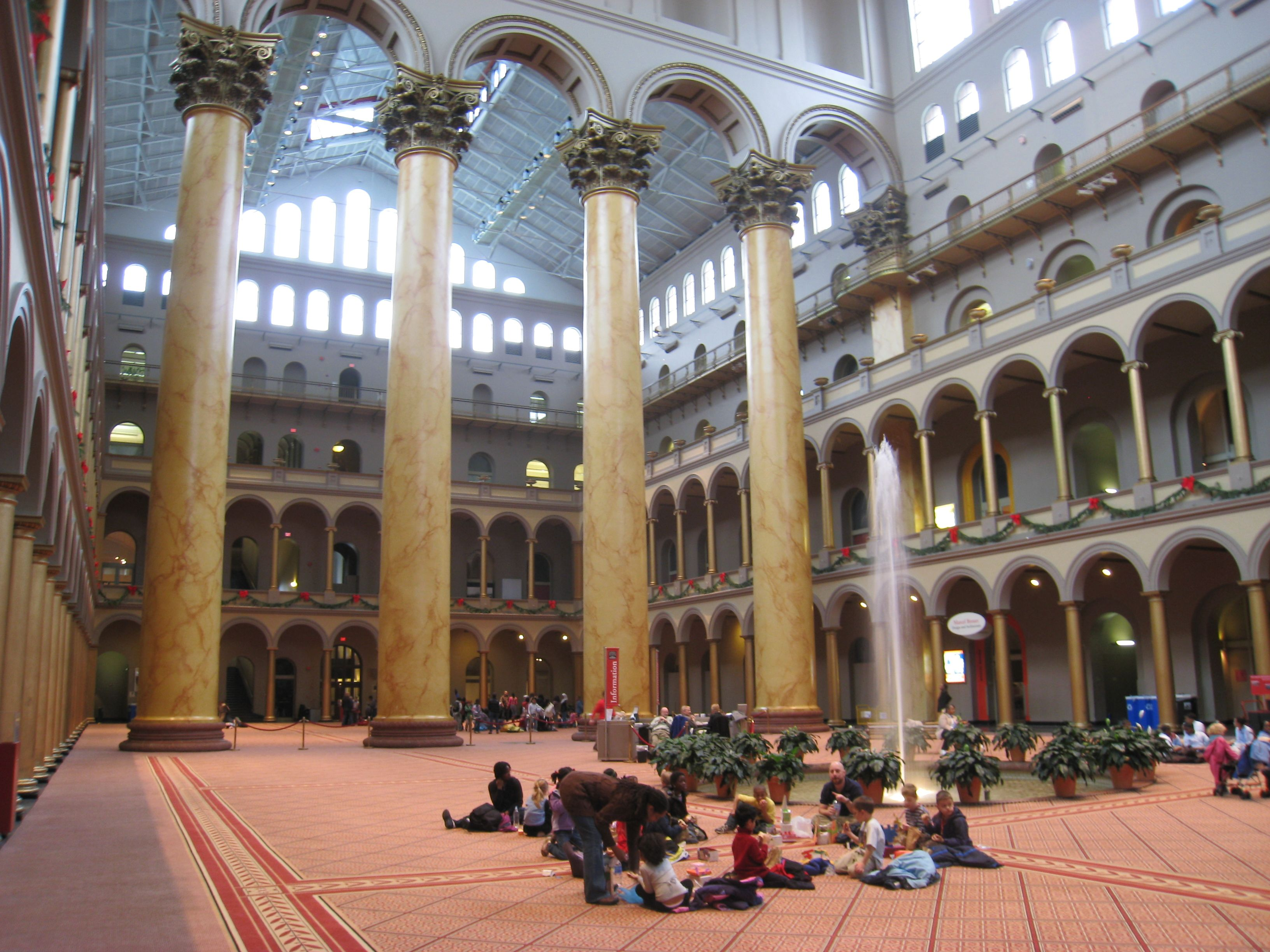 The national building museum washington dc. the national building
