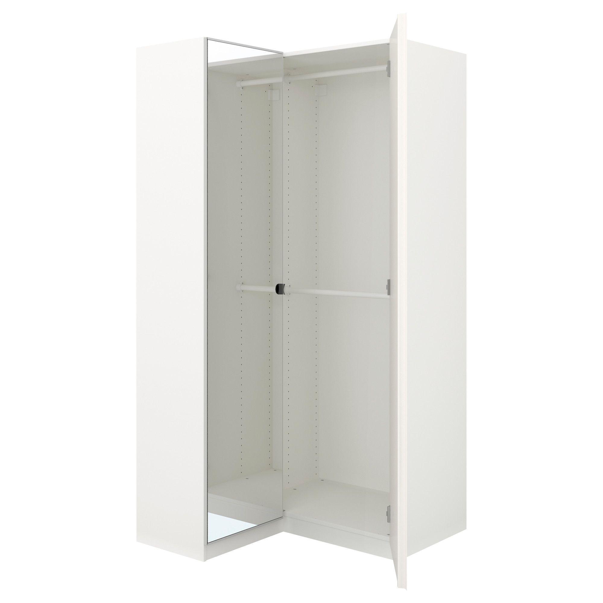 Pax Corner Wardrobe White Fardal Vikedal 43 1 2 34 5 8x79 1 8