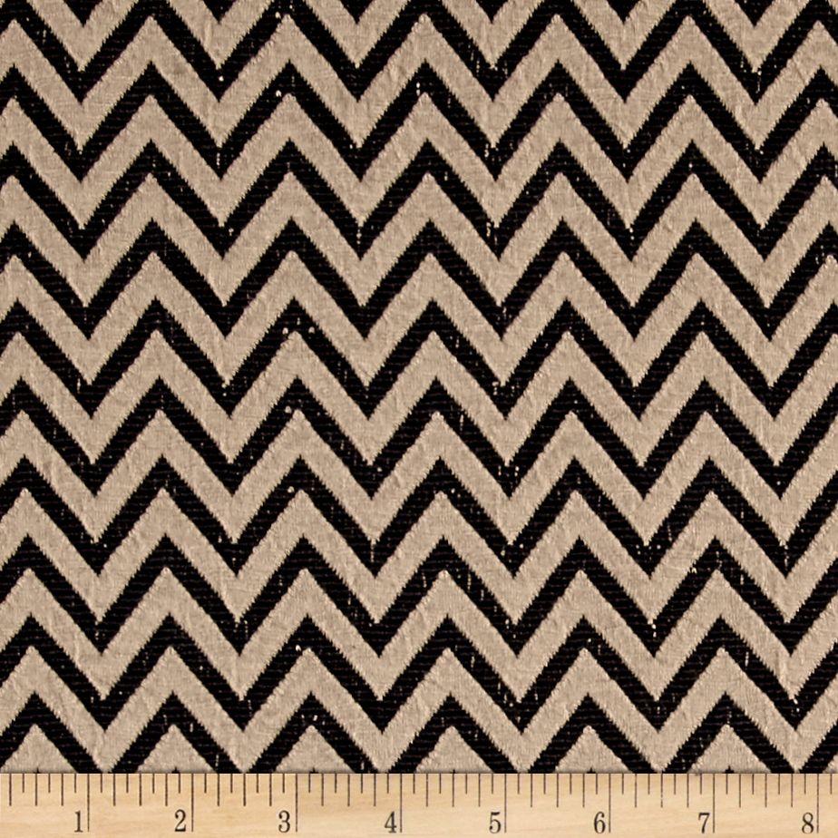 Black Jacquard Double Jersey Dress Fabric Per Metre