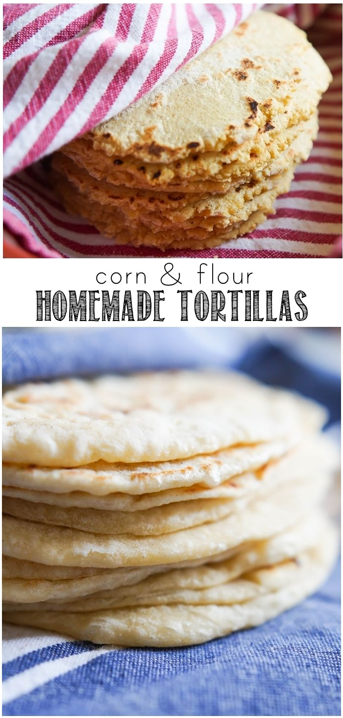How To Make Homemade Corn And Flour Tortillas Bakeat350 Net For The Pioneer Woman Food Friends How To Make Tortillas Food Homemade Tortillas
