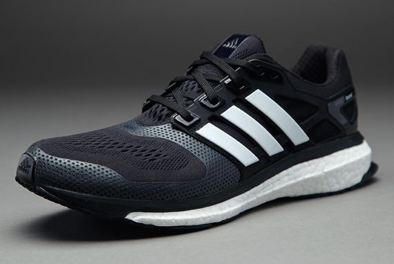 new arrival dbd57 3cdd7 adidas Energy Boost 2 ESM - Mens Running Shoes - Black-Running White -Infrared