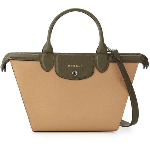 Longchamp Le Pliage Heritage Medium Tricolor Satchel Bag | Bags ...
