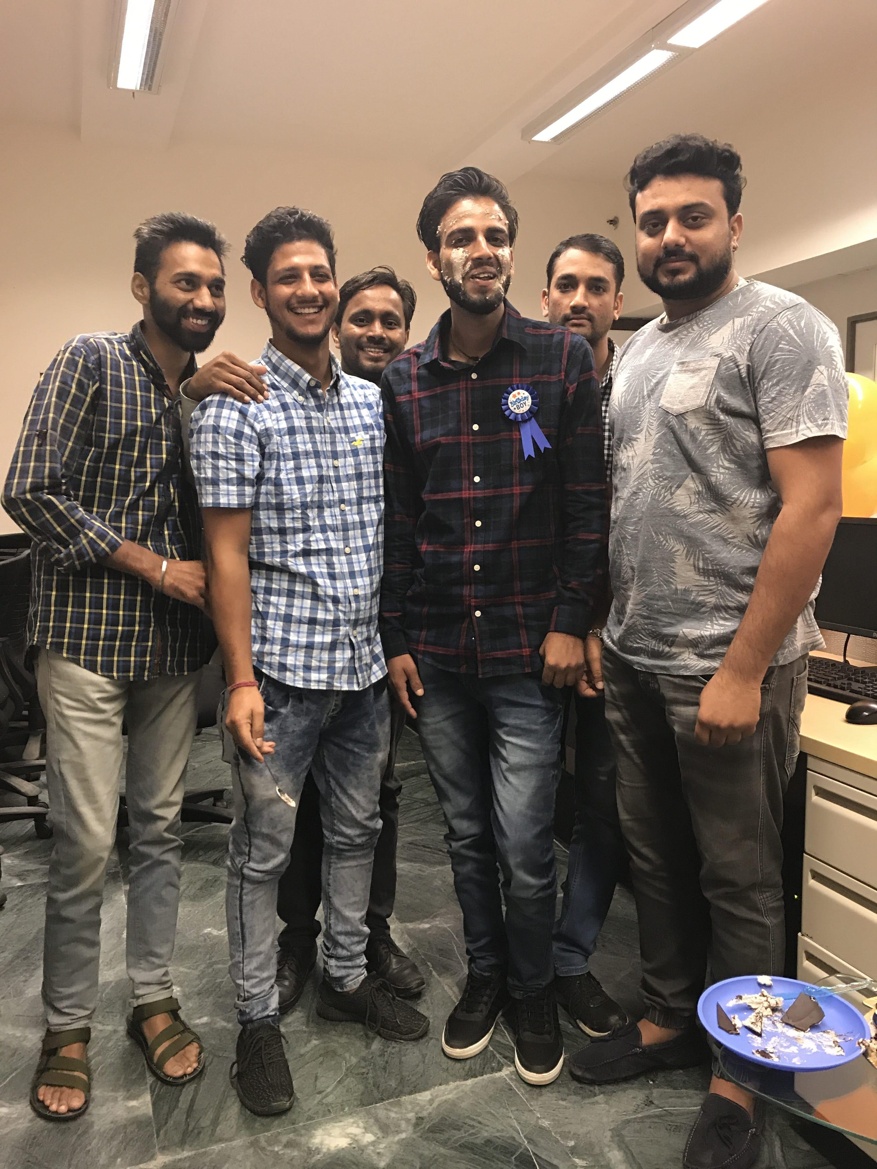Birthday Celebration Vinod Jarial Birthday celebration