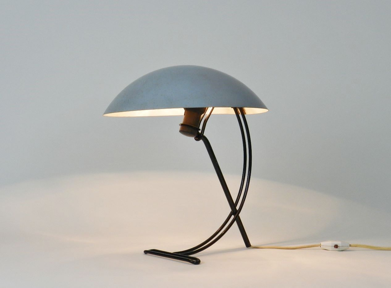 Sculptural table lamp designed by Louis Kalff for Philips