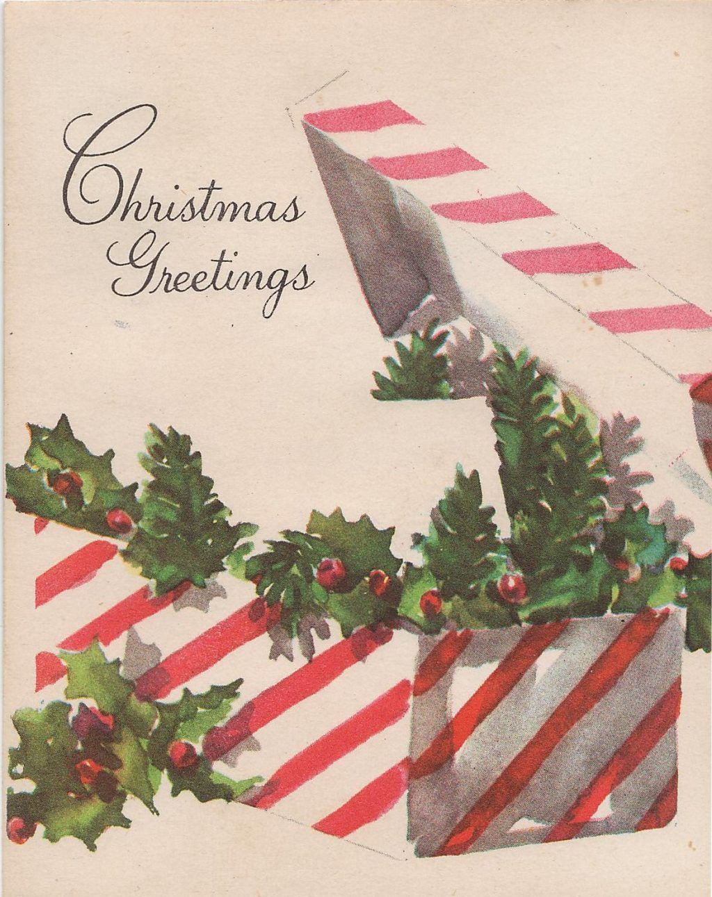 Christmas ~ Vintage 1950s Christmas Cards Imagesvintage For Sale ...