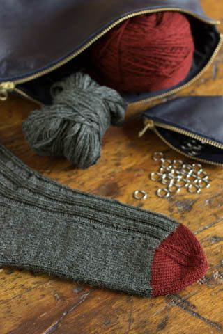 Churchmouse Yarns & Teas - Basic Socks Project - Ultra Alpaca Fine Version