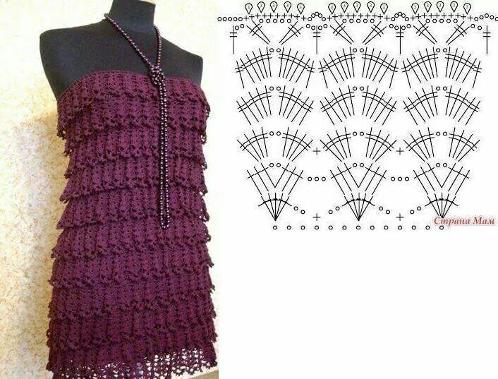 Stitch Crochet Pattern For Women Vanessa Montoro Pinterest