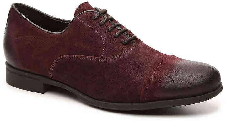 Geox Men's Besmington Cap Toe Oxford Burgundy | Products