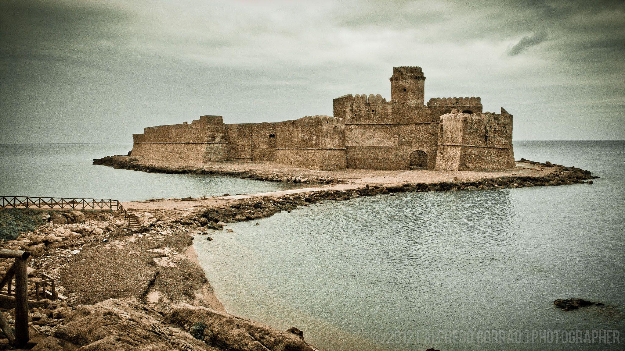 Le Castella. Calabria, Italy (mit Bildern) Italien