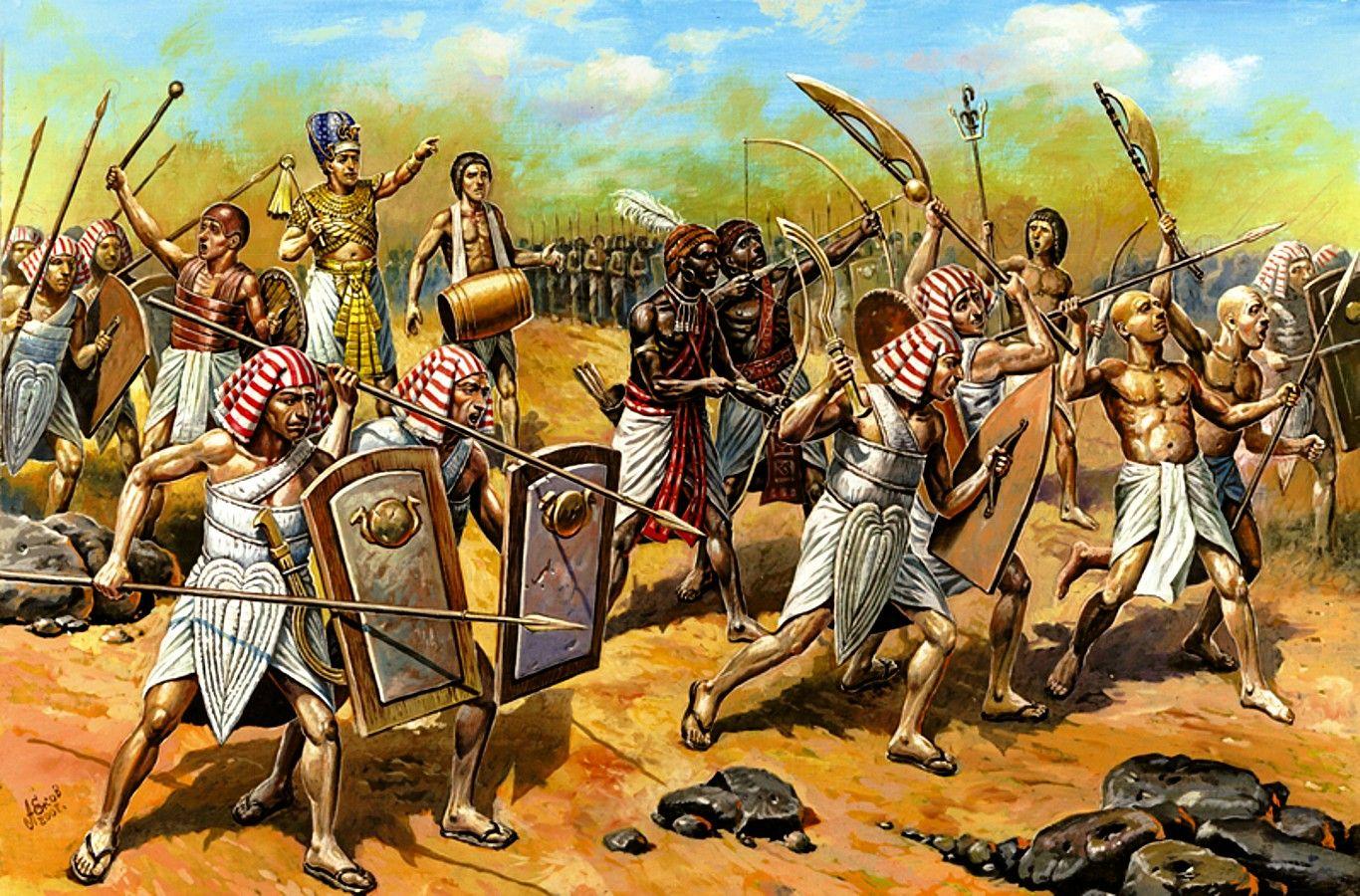 ancient egypian armies