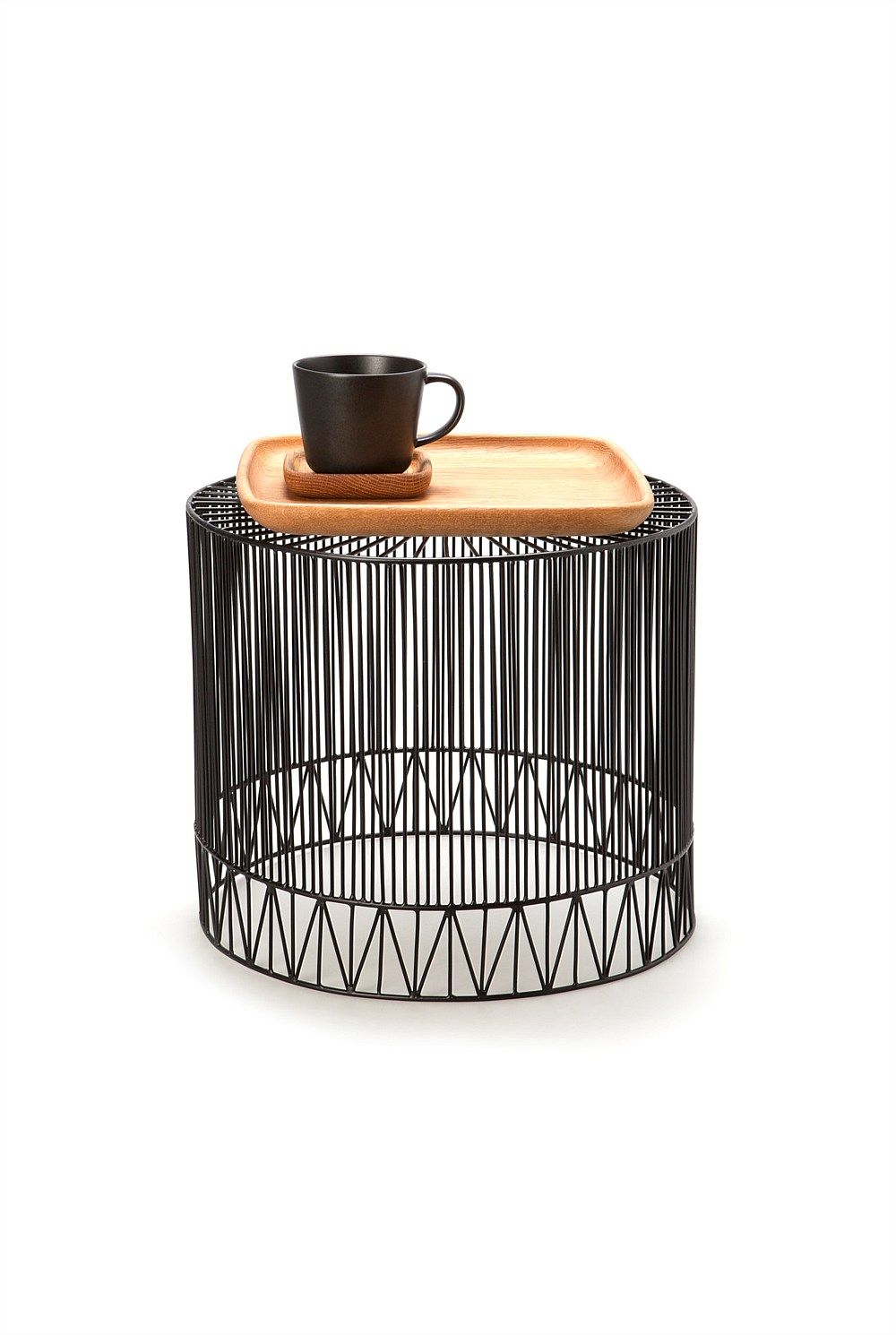 Not Space Swamping Light And Quirky Wire Table Via Country Road Australia Home Accessories Interior Furniture Furniture Side Tables
