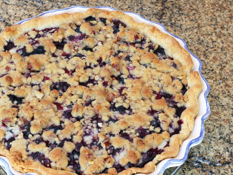 Make A Sour Cream Blueberry Pie Recipe Sour Cream Blueberry Pie Recipe Blueberry Pie Recipes Blueberry Recipes