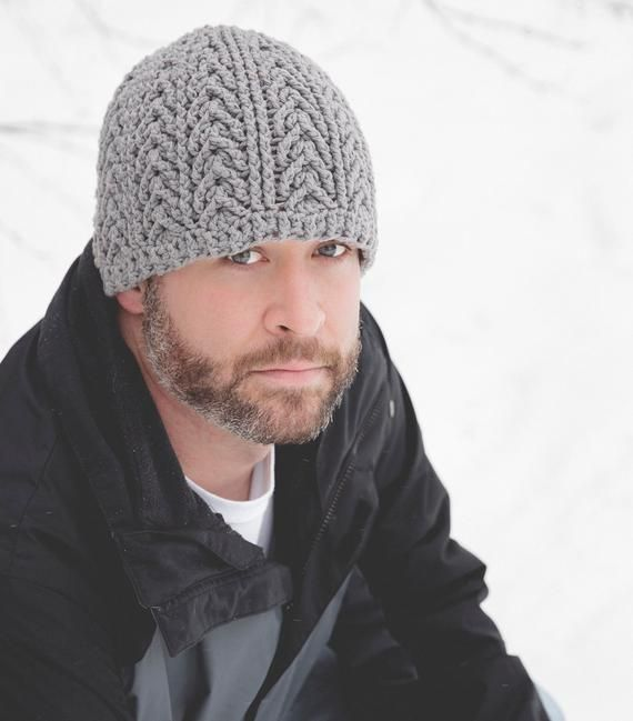 49e1dda274a Crochet Pattern for Unisex Arrowhead Beanie Hat - 6 sizes (baby to large  adult) - Welcome to sell fi
