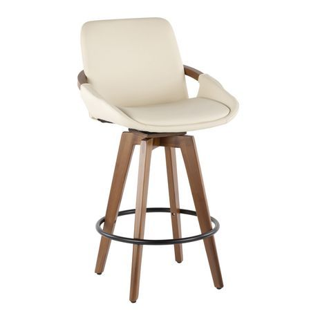 Cosmo Mid Century Modern Counter Stool