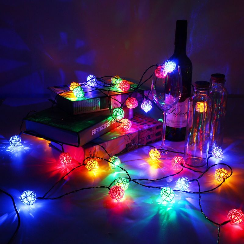Outdoor Fairy Lights Fascinating Waterproof 6M 30 Led String Light Wedding Christmas Solar Powered Decorating Design