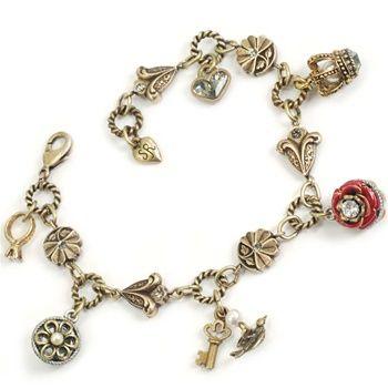 Sweet Romance-Victorian Romance Charm bracelet