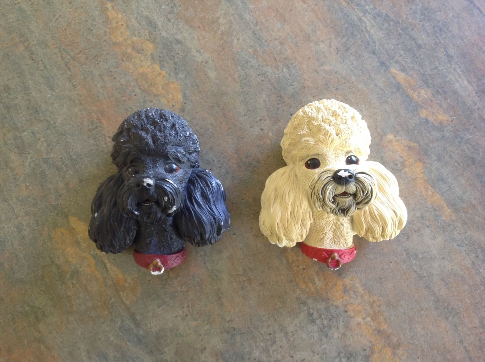Two Bossons Poodles. eBay! Wall deco, Wall vase, Poodle