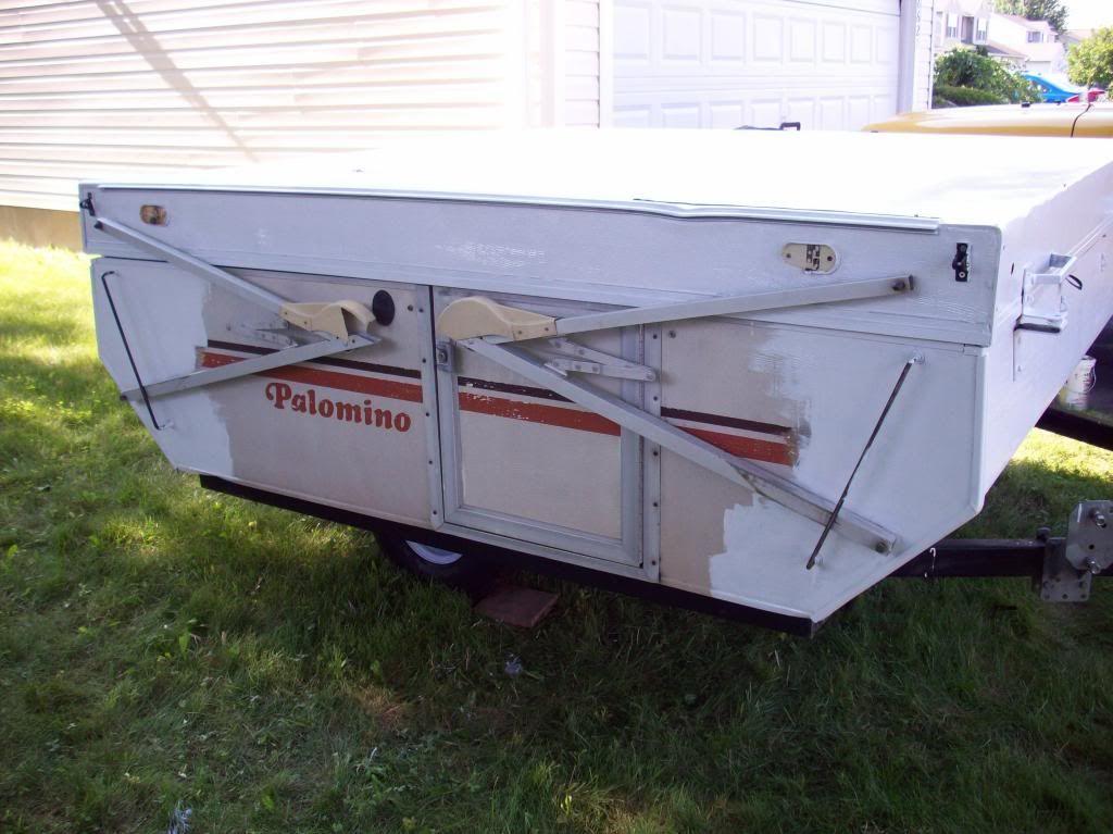 1980 Palomino Restoration Pop Up Camper Pop Up Tent Trailer