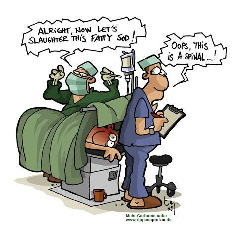 yes, thats how it's like at the operating room! ;D | Anesthesia ...